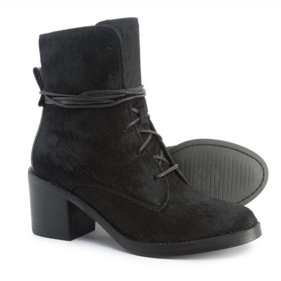 7f7793b295e UGG Oriana Exotic Calf Hair Block Heel Boot NWT